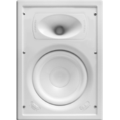 Ghost Series 8″ In-Wall Speaker, White Poly Woofer (Each) ZTR-GPW-8