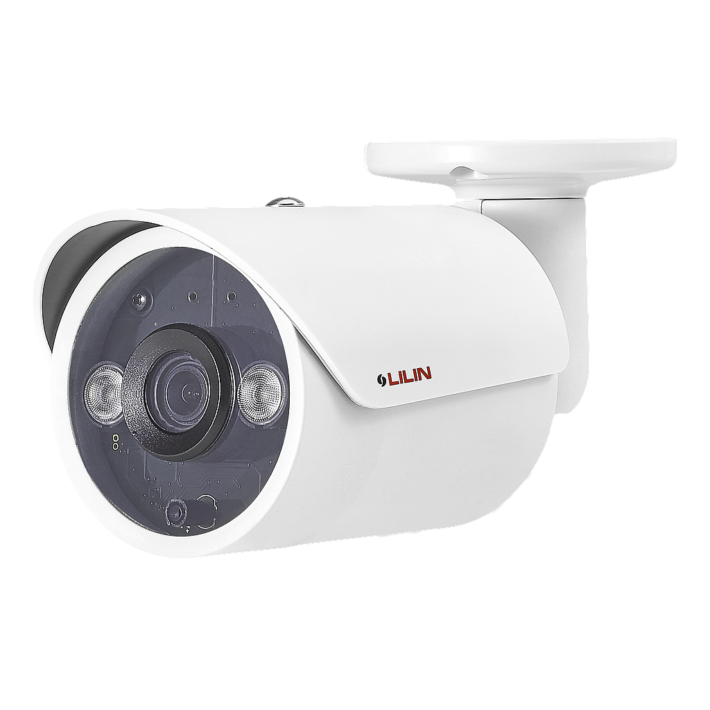 Lilin 2MP 1080P 15FPS Wall or Ceiling Mount Outdoor IP Bullet Camera 4mm Lens up to 20M IR Illumination