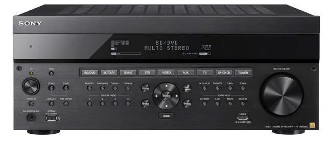 Sony® STR-ZA810ES 7.2 Channel AV Receiver with Dolby Atmos and DTS:X