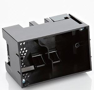 New Construction - In-Wall Touch Screen Back Box (Plastic)
